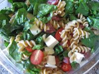 Pasta with Olives Salami and Mozzarella Recipe | Healthy Pasta Recipe