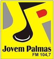 ouvir a Rádio Jovem Palmas FM 104,7