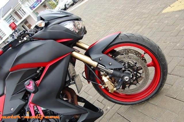 Foto Modifikasi Kawasaki Z250 Mantap Terbaru 2014 | Gambar Modifikasi  title=