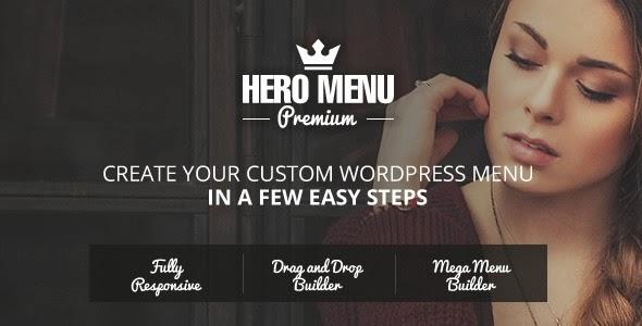Hero Menu v1.4.4 - Responsive WordPress Mega Menu Plugin