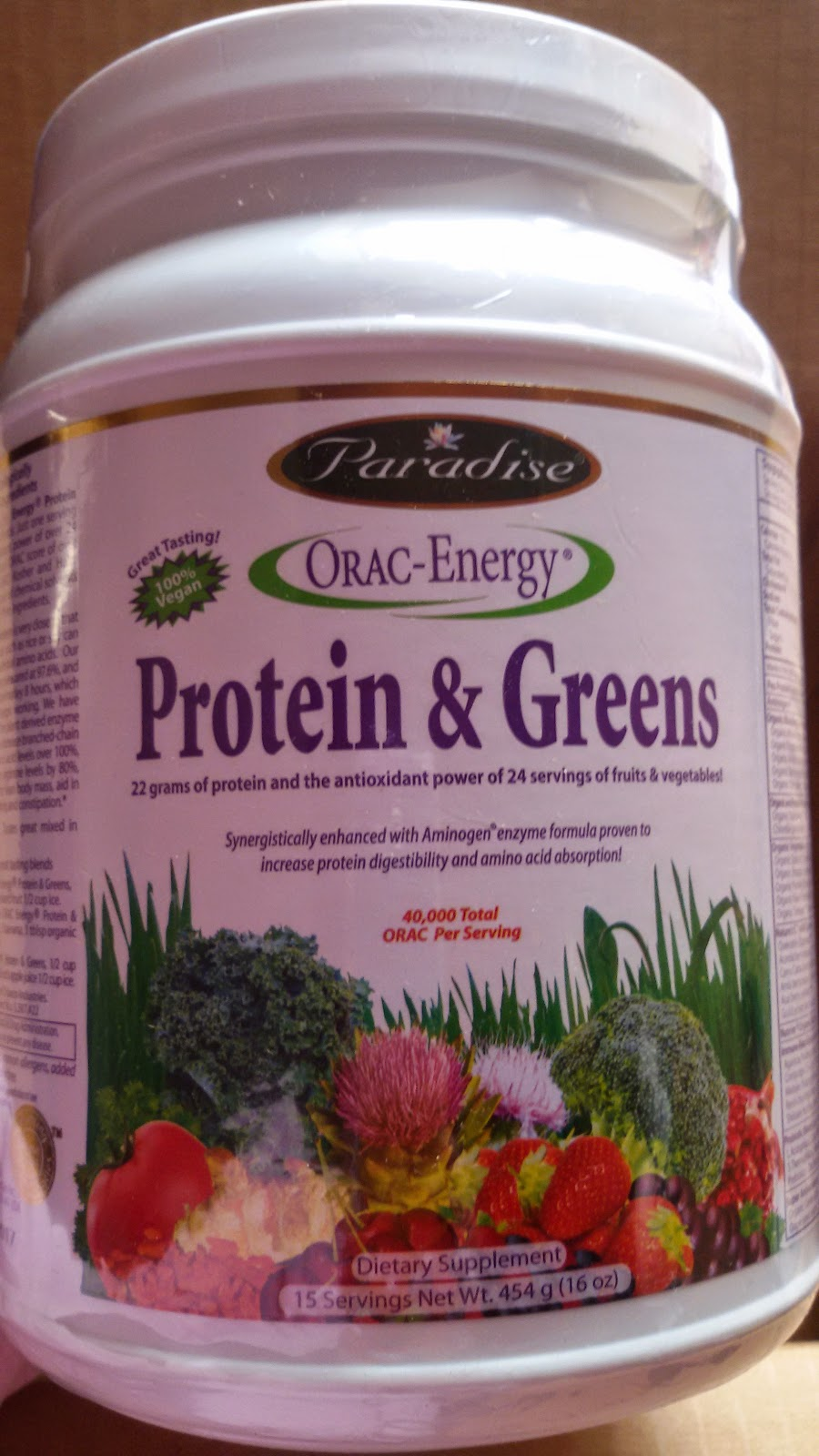 Paradise Orac-Energy Protein & Greens