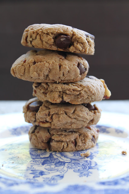 Tofu Cookies with Chocolate Chips and Pecans