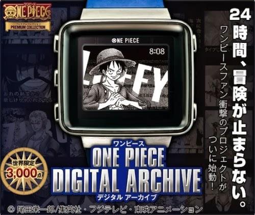 Relojes de One Piece que cambian de fondo a cada hora