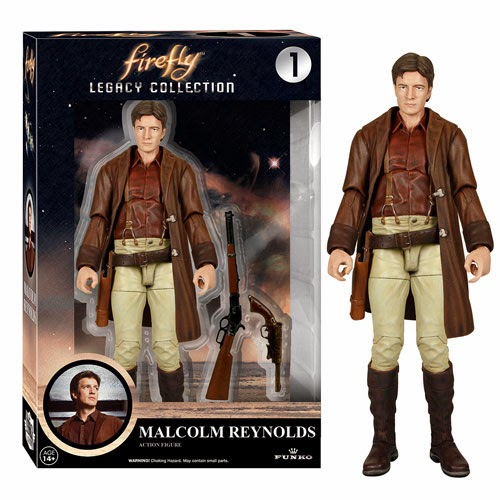 Firefly Legacy Collection Series 1 Action Figures - Malcolm Reynolds