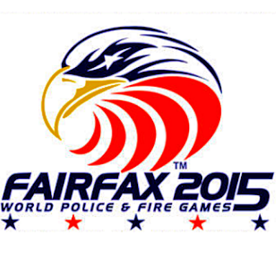 logo for 2015 World Police & Fire Games Fairfax County VA