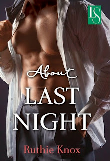 Book cover of About Last Night by Ruthie Knox