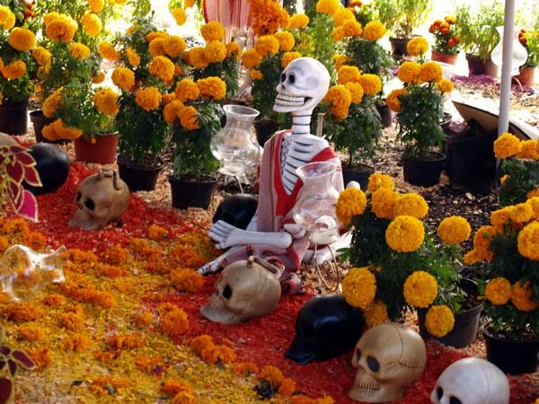 Feiertag am Tag der Toten