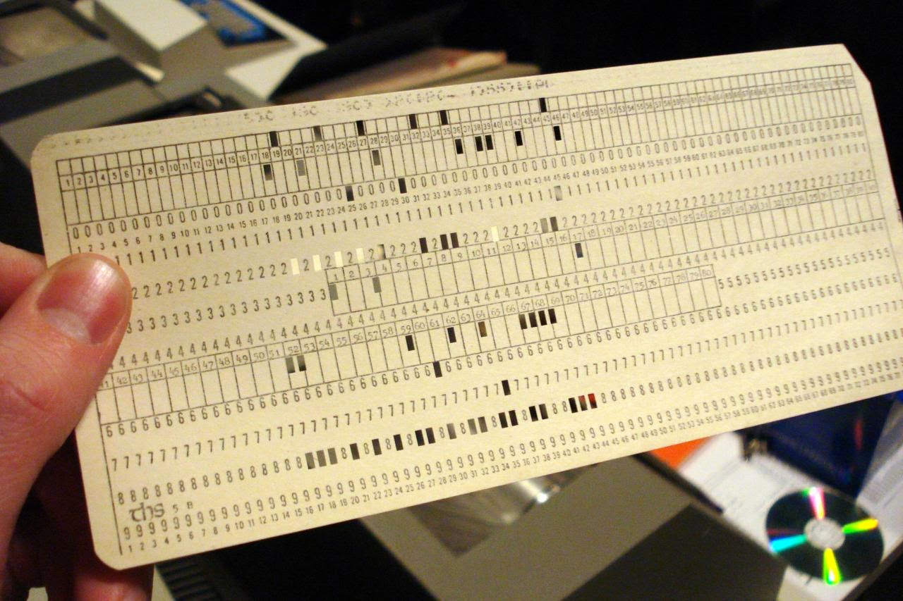 Punched Card System
