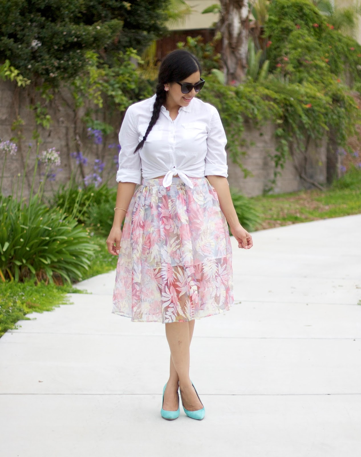 Organza pastel skirt, san diego fashion blogger, san diego style blogger, san diego style, i love san diego