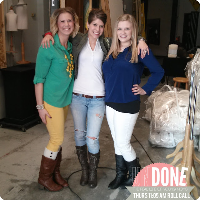 {The UNDONE Blog} Real Life Mom Fashion - 11:05 am on a Thursday