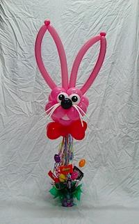 Easter Bunny Balloon Bouquet