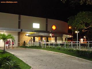 Fachada da Praça de Alimentação do Juazeiro Open Mall.