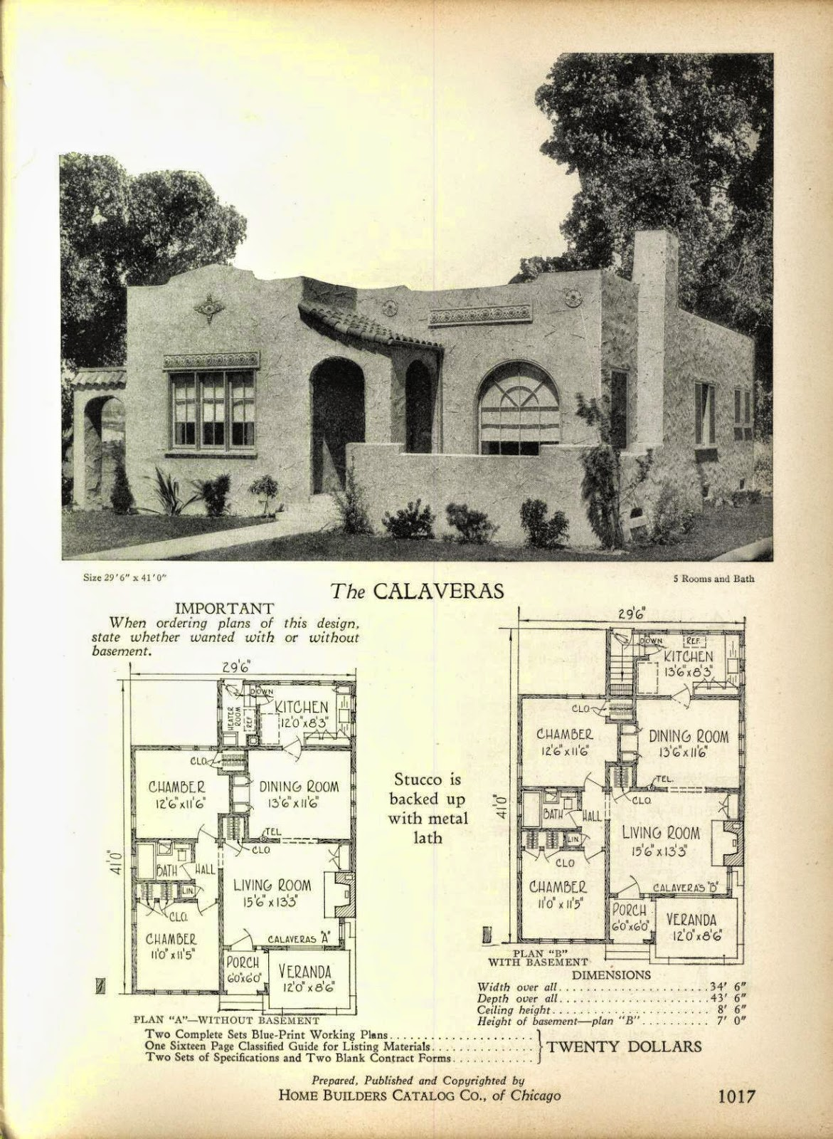 Once Again, Even More Art Deco House Plans! | Art Deco Resource