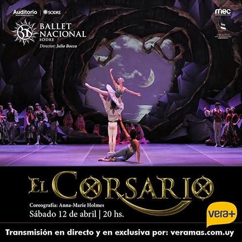 """Transmición en directo de """"El Corsario"""" Sábado 12 de abril"""