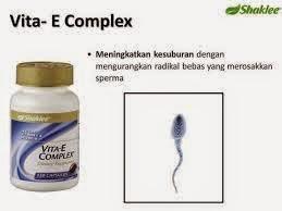 vitamin e untuk sperma lelaki
