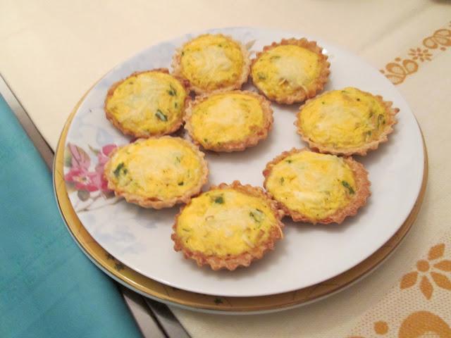 barquette ricotta thon fromage persil farce