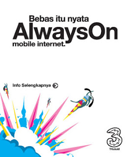 Trik Internet Gratis Three AON 22 November 2012