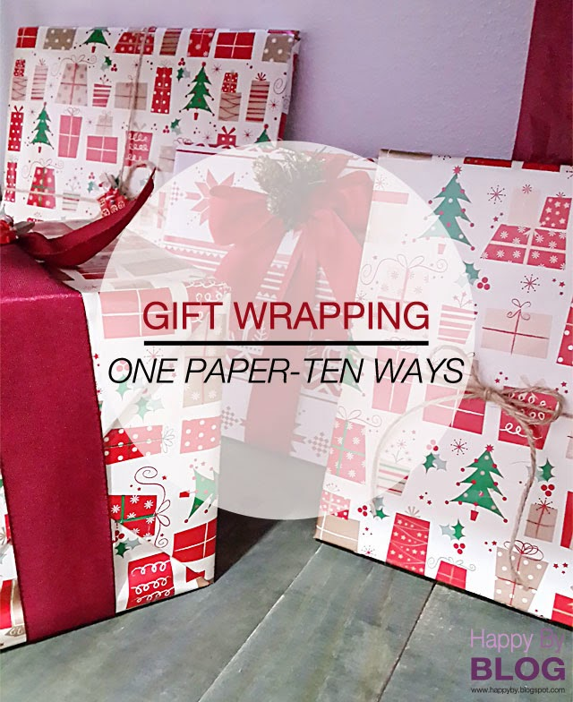 Christmas Gift Wrap - Wrapping paper can be such a bore—personalize your gifts instead with these unique ways to wrap gifts! Add a touch of greenery with the Mini Boxwood Wreath Tutorial. Find this Pin and more on Christmas favorites by Gayle Mccluskey.