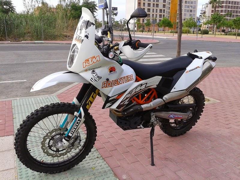White KTM