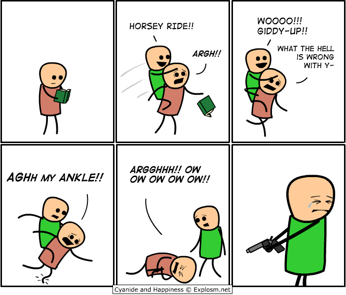 Funny Cyanide and Happiness Comics