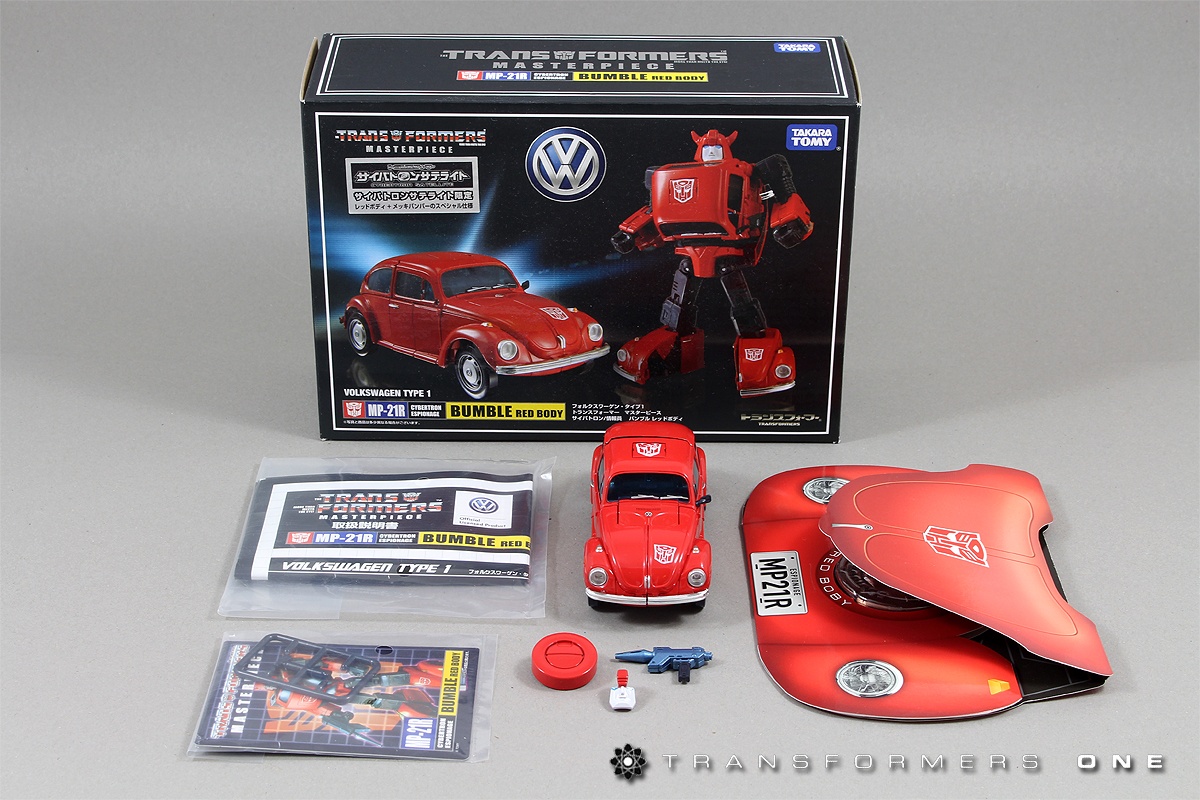 Masterpiece MP-21R Bumble Red Body Article Redbee21x