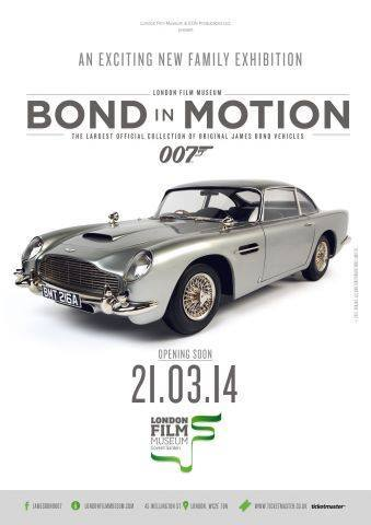 Bond in Motion London Film Musuem