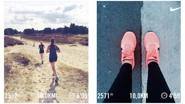 Nike running app fall runs