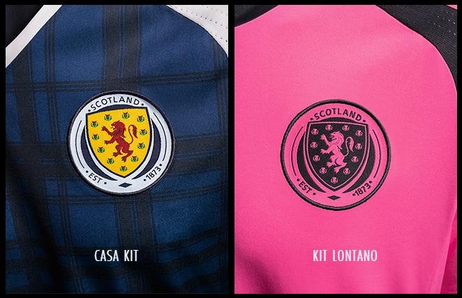 Nuove maglie adidas home (tradizionale) e away (rosa!) della SCOZIA !   BeTheDifference 5c531fd3b71ca