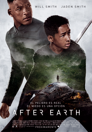 3 intensas escenas de After Earth