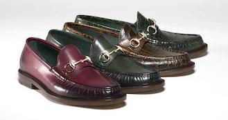 mocasines hombre Gucci colección 1921