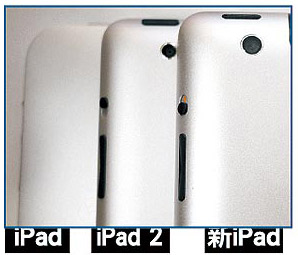 iPad 3 gets New designs With Camera 8 MP