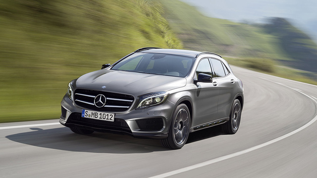 Official Mercedes GLA