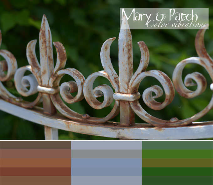 brun/gris/vert brown/grey/green