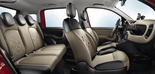салон нового Fiat Panda
