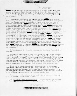 AFOSI -Project Sign Report - Flying Triangle Sighted Over Vicksburg, Mississippi (3) 5-26-1949