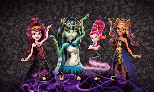 Monster High, 13 Wishes DVD, Children Animation