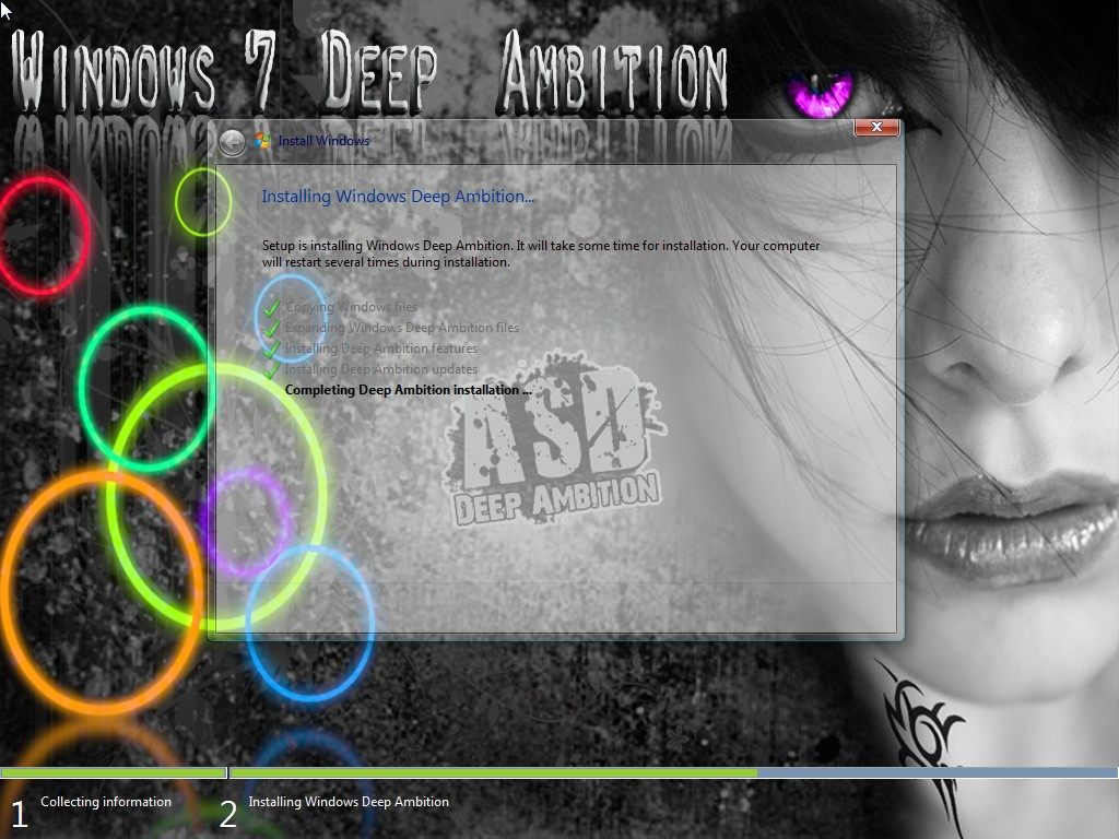 Windows 7 Enterprise Deep Ambition With x86 (Agosto) 2011