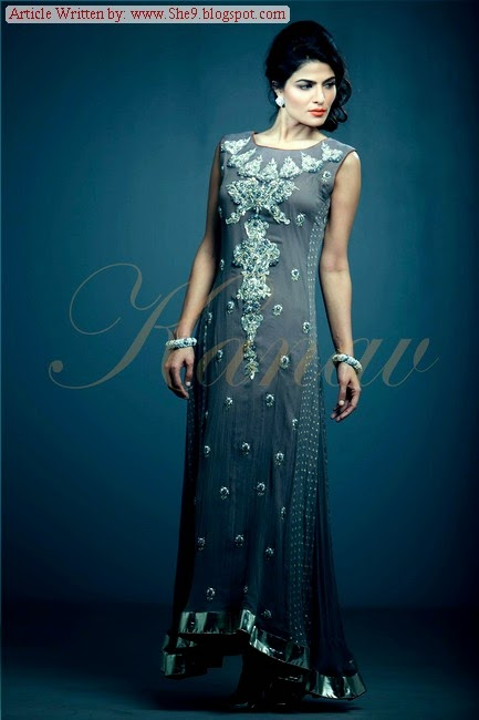 Latest Formal Pakistani Dresses for Girls