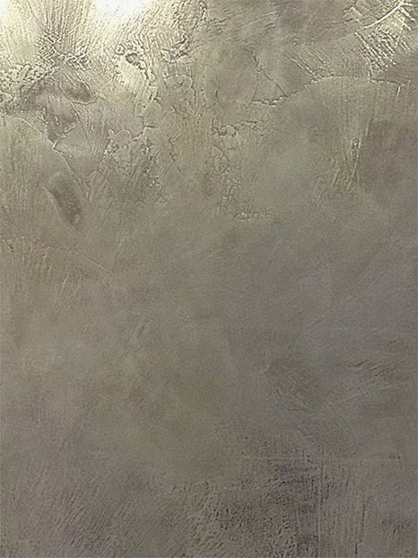 Microcemento efecto aluminio