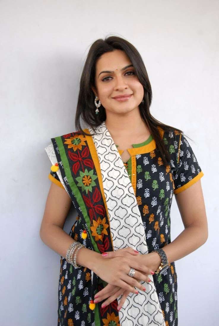 Actress Aditi Agarwal in Salwar Kameez Photo Gallery