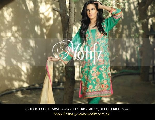 Motifz Spring Lawn Collection Volume- 1 2015