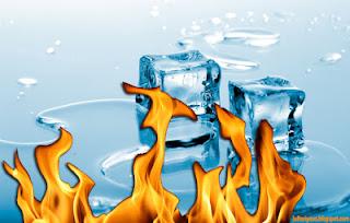 Trik Membuat Api Dengan Menggunakan Es Batu