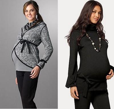 Tu Portal Bebé: Ropa de invierno para embarazadas - FOTOS