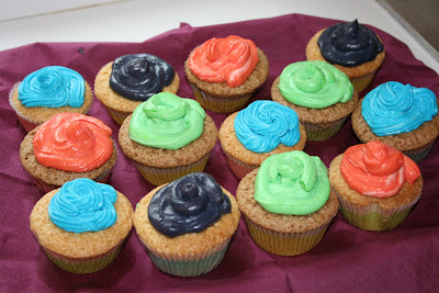 cupcake con frosting ricetta di renato
