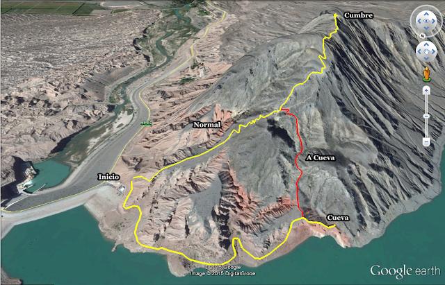 Trekking Cerro Tres Marias, Dique de Ullum, San Juan