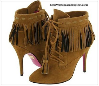 how and what to wear with fringe shoes