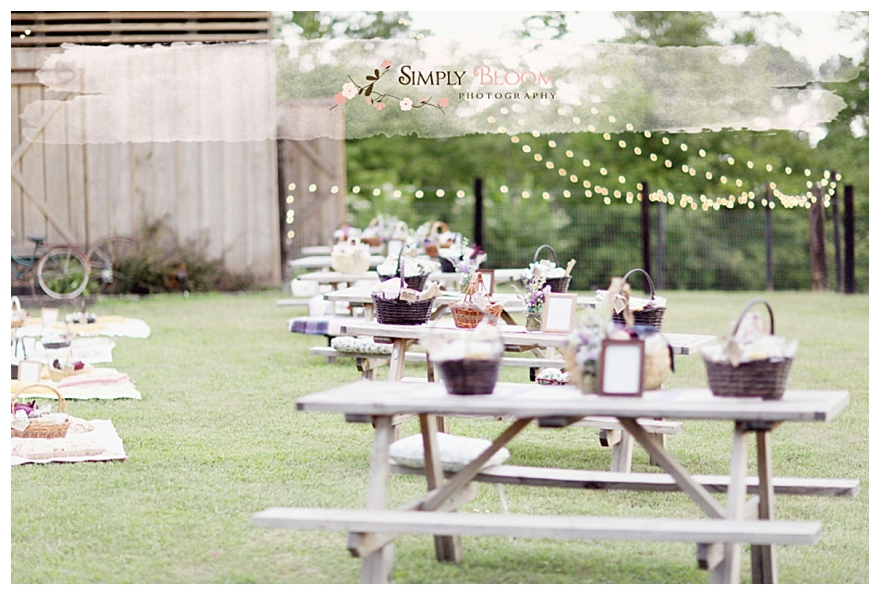 Real Rustic Picnic Wedding Michelle Paul