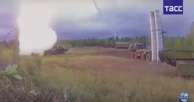 Η Ρωσία ανακοίνωσε την ενεργοποίηση των S-400 και S-300V4 «Antey-2500» στη Συρία με εντολή κατάρριψης των Αμερικανικών μαχητικών
