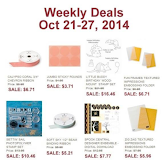 Items on Sale! Oct 21 to 28