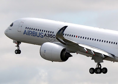 airbus a350 maiden flight first